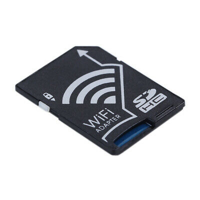 WiFi Wireless Micro SD SDHC To SD Card Camera Cordless AdapterFor iOS Android
