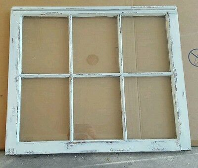Vintage Sash Antique Wood Window Unique Frame Pinterest Wedding Distressed Etsy