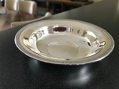 Sterling Silver Bowl Antique Fisher 101