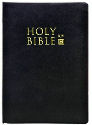 The Holy Bible King James Version Old & New Testaments, Black