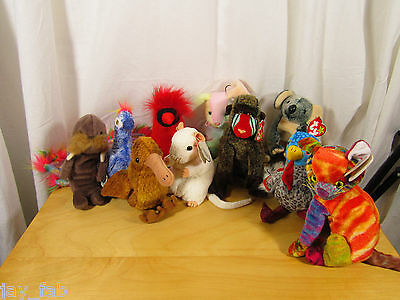 70+ Ty Beanie Babies - pick the ones you want - all retired - free USA shipping