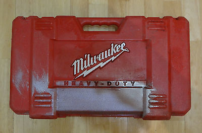 Milwaukee Lot-Tor Series 18V 1/2'' Hammer-Drill Kit 0624-24 ( Case Only, USED )