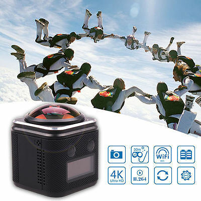 Ultra 4K 16MP FHD DV Cam Waterproof 360° Sports Action Camera Camcorder Go Pro