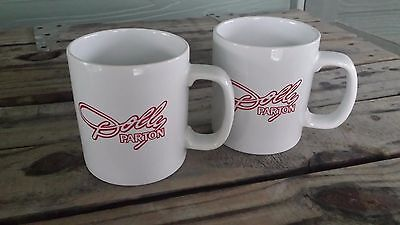Dolly Parton Coffee Mugs / Vintage 1978 Tour Memorabilia / 2 Count Lot Rare!