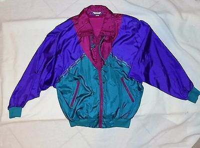 Vintage 80s  River Edge Track Jacket Size Small