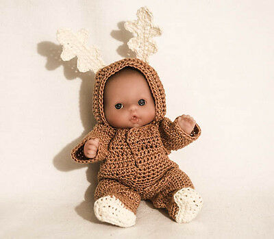"""Reindeer OUTFIT ONLY for the Itty Bitty Baby - 5"""" Lots to Love Babies"""