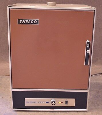 GCA/Precision Scientific Thelco 17 Incubator Oven Cat 31556 220VAC