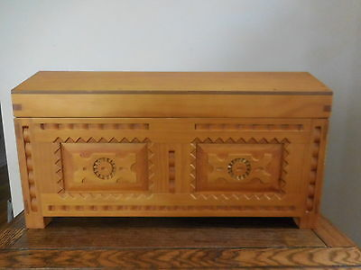 Retired American Girl Doll Josefina Wooden Chest Carved Trunk Wood Furniture