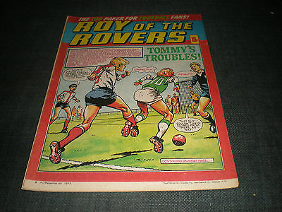 Roy Of The Rovers Comic Book 8Th Dec 1979 Football Gift Idea Birthday Christmas