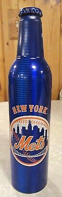 2007 Bud Light MLB New York Mets Aluminum Bottle Beer Can #500975