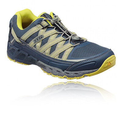 Keen Versatrail Mens Blue Trail Lace Up Outdoors Walking Camping Shoes