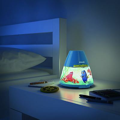 Official Finding Dory Nemo Led Night Light And Projector Kids Free P+P