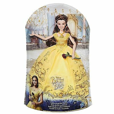 New Disney Princess Beauty & The Beast Enchanting Ball Gown Singing Belle