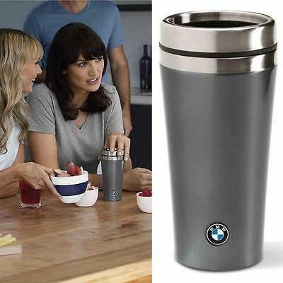 Genuine BMW Designer Flask Drink Cup Tea & Coffee Double-walled 1 2 3 4 5 6 7 X