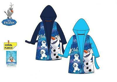 Wholesale Job Lot Official Disney Frozen Olaf Fleece Coral Dressing Gown
