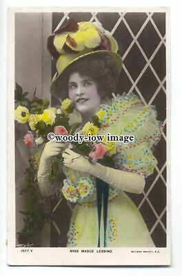 b3634 - Stage Actress - Madge Lessing - postcard