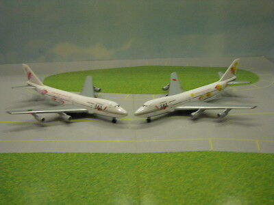 Herpa Wings Jal Super Resort Express 747-200 Purple & Yellow 1:500 Scale Models
