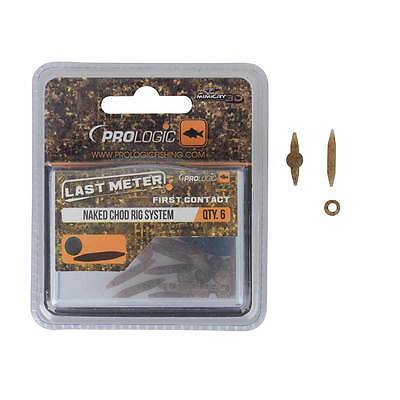 Prologic NEW Last Meter Mimicry Naked Chod Rig System 10pcs - 54409