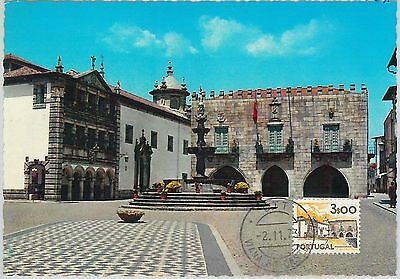 63643 - Portugal - Postal History: Maximum Card 1973 -  Architecture