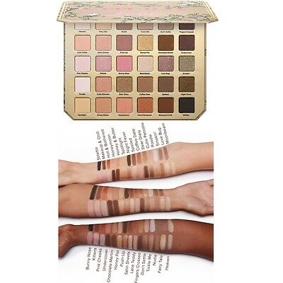 Too Faced Natural Love Eye Shadow Collection Palette  Eyeshadow Makeup 30 Colors