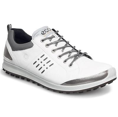 New Ecco Biom Hybrid 2 Gore Tex Golf Shoes White