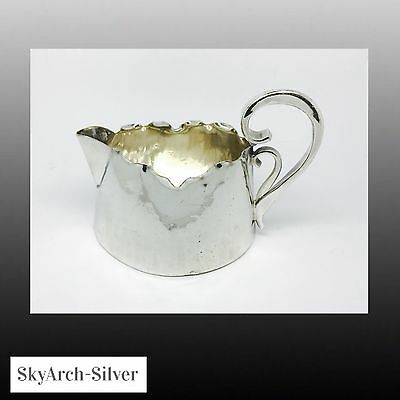 SILVER PLATED EPNS Cream Jug ARTS & CRAFTS Silver Plate Jug