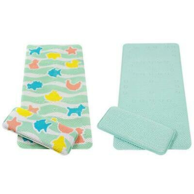 ClevaMama Bath Mat Kneeling Cushion Baby Child Safety Suction Long Soft