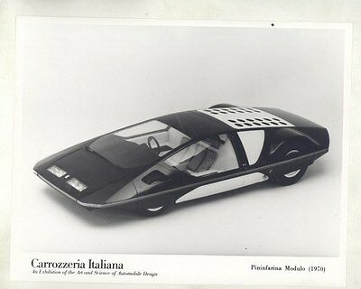 1970 Carrozzeria Italiana Pininfarina Modulo Concept Car ORIGINAL Photo ww7952