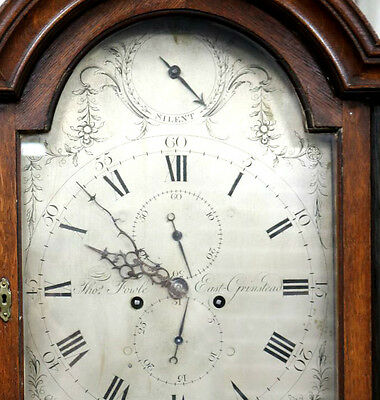 Fine Early Georgian Antique Domestic Regulator 8 Day Longcase Clock Serviced