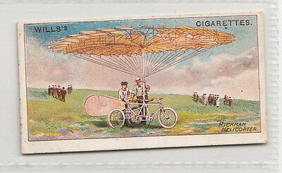 1910 AVIATION Card of the RICKMAN HELICOPTER