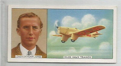 1936 Card Owen Cathcart Jones - Miles Hawk Trainer