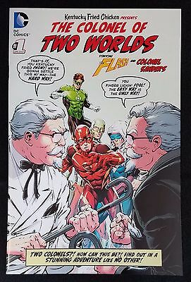 Colonel of Two Worlds #1 NM+ FLASH DC Comics KFC Kentucky Fried Chicken