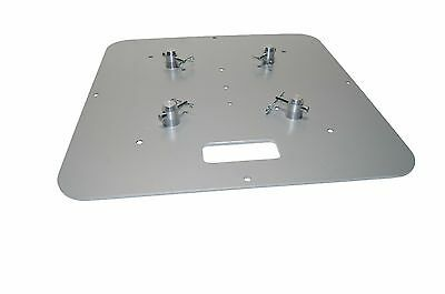 24 X 24 Silver Base Plate Fits Global Truss F23 F24 F33 F34 F44 SQ and others