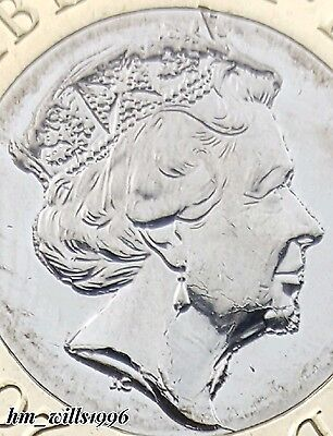 2016 One Pound £1 Nations Of The Crown 12 Sided Portrait Strike DIE ERROR
