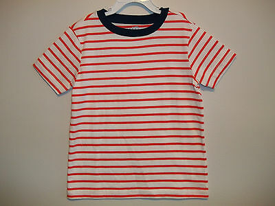 131366bf OLD NAVY BOYS STRIPED SHORT SLEEVE T-SHIRT TOP (red white blue ...