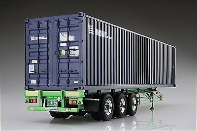 Aoshima 51948 40 Feet Sear Freight Container 3AXIS 1/32 scale kit F/S japan NEW