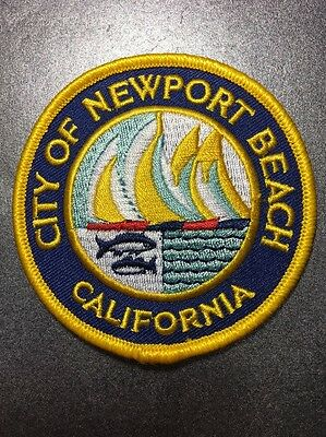 City Of Newport Beach Orange County California High-Quality Embroidered Patch 3""