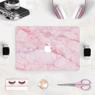 Laptop Pink Marble Decal Sticker Full Skin Cover for Macbook Air Pro Retina New
