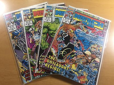MARVEL Comics MYS-TECH WARS #1 2 3 4 Complete Series WOLVERINE Ships FREE! NM!