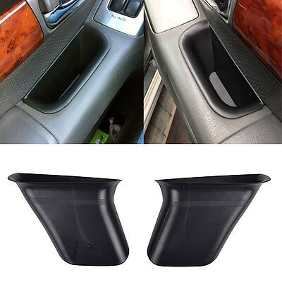2pcs Front Door Storage Box Fit For Toyota Land Cruiser Prado 2004 - 09 j120 Bin