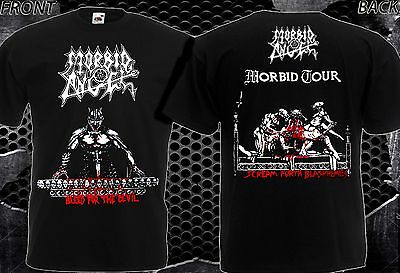 "NEW T-SHIRT "" MORBID ANGEL Bleed For The Devil "" DTG PRINTED TEE- S- 7XL"