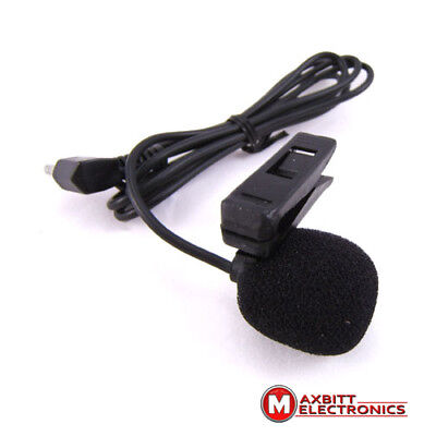 3.5mm Jack Plug Mini Clip On Microphone Mic With Tie Collar Shirt Clip