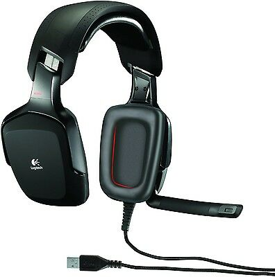 Logitech G35 Surround Sound Wired USB Gaming Headset with Microphone