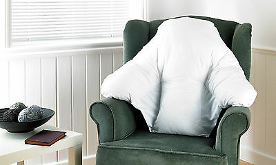 Batwing Support Pillow Deluxe Back Support Cushion For Chairs