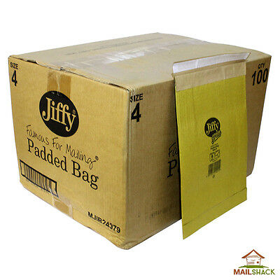 JIFFY Green Large Letter Padded Envelopes Bags | Size 4 | 240 x 330mm