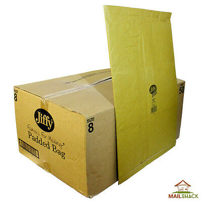 JIFFY Green Padded Envelopes Bags | Size 8 | 460 x570mm