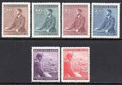 GERMANY WWII Occupation BOHEMIA & MORAVIA 1942-1943 Adolf Hitler Issues MINT NH