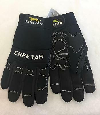 935CH MCR Cheetah Multi-Task Safety Gloves Clarino Synthetic Leather Size Large