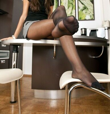 calze, collant, tight, Pantyhose USED.Nere, black