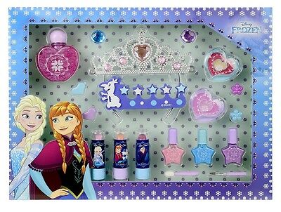 NEW Disney Frozen Deluxe Make-Up Set With 16 Piece